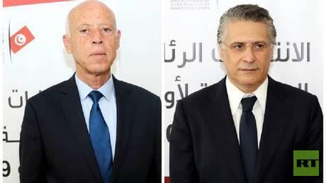 تونس.. مناظرة تلفزيونية بين مرشحي الرئاسة قيس سعيد ونبيل القروي