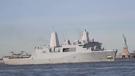الولايات المتحدة تضع أول ليزر قتالي على متن سفينتها العسكرية