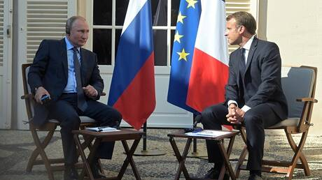 بوتين وماكرون يؤكدان على أهمية إطلاق حوار سوري سوري في إطار اللجنة الدستورية