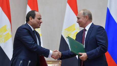 بوتين: القرض المقدم لمصر لبناء محطة الضبعة النووية وفقا للشروط السائدة