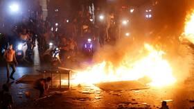 تواصل الاحتجاجات في مختلف المناطق اللبنانية لليوم الثاني على التوالي