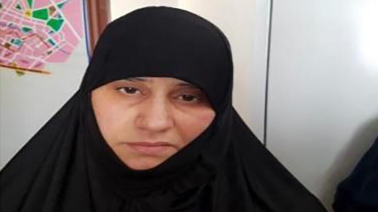 بعد اعتقالهم في سوريا.. زوجة البغدادي وشقيقته وصهره بالصور والتفاصيل!