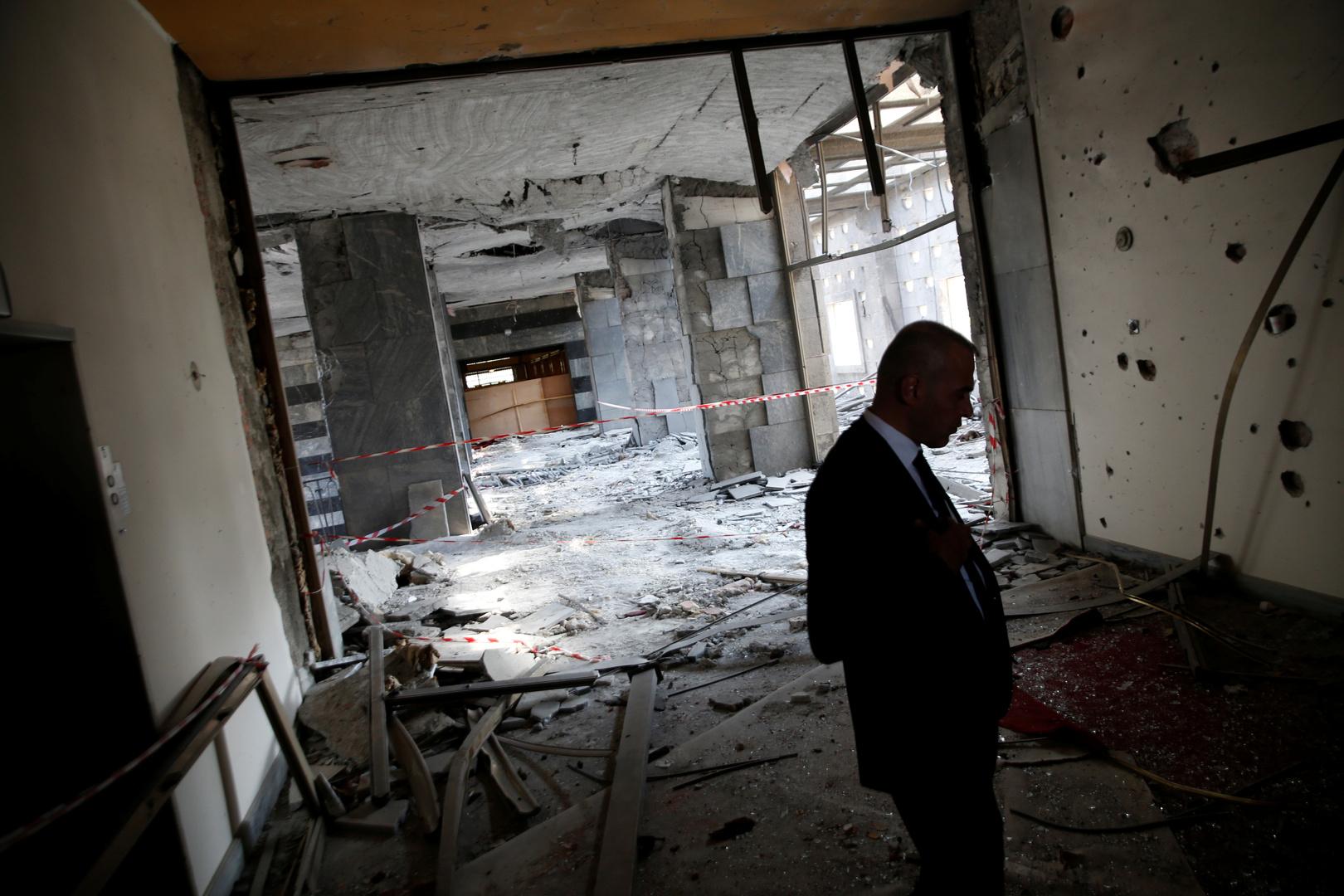 الأضرار التي لحقت بمبنى البرلمان التركي جراء محاولة الانقلاب