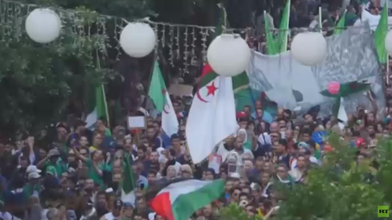 تظاهرات بالجزائر في ذكرى ثورة التحرير