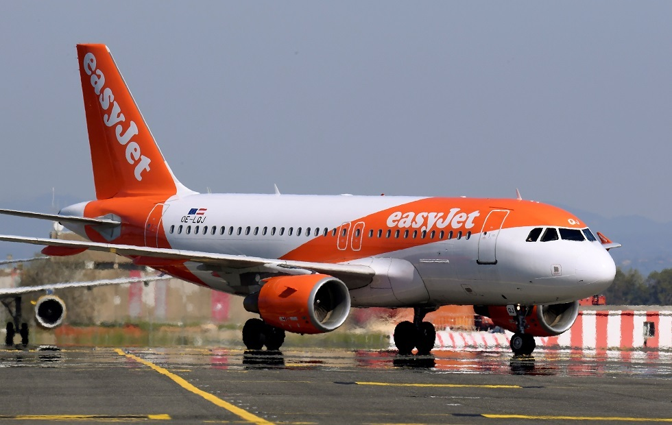 طائرة تابعة لشركة إيزي جيت