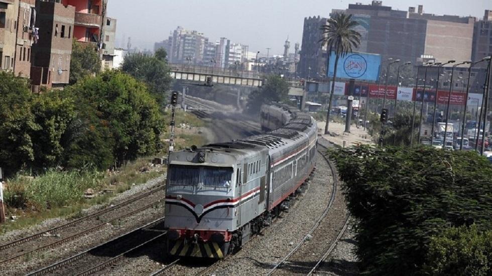 قطار في مصر - أرشيف -