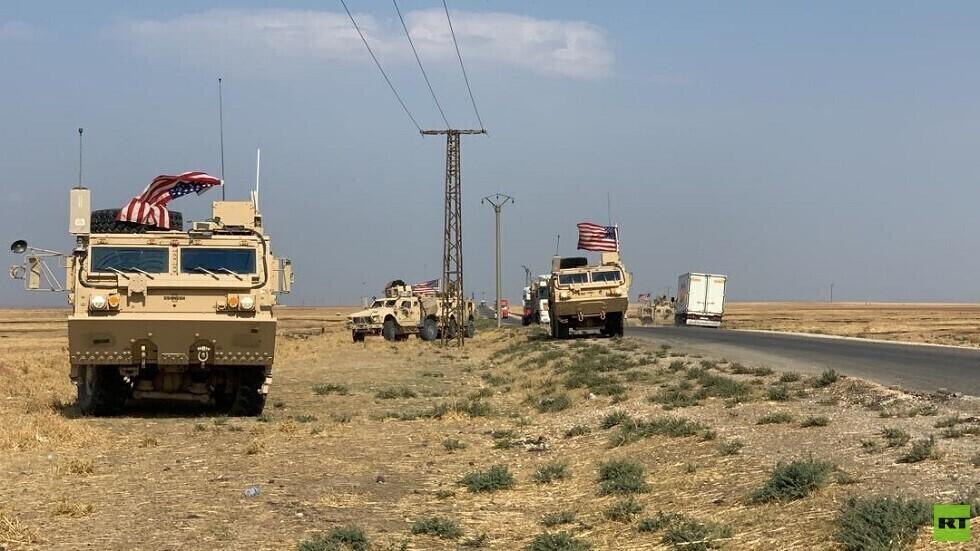 عشرات الآليات العسكرية الأمريكية تغادر سوريا إلى العراق