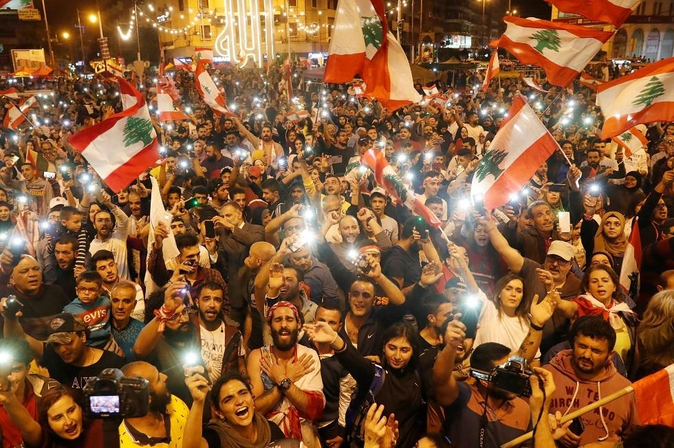لبنان.. تظاهرات حاشدة في مدينتي طرابلس وصيدا (صور)