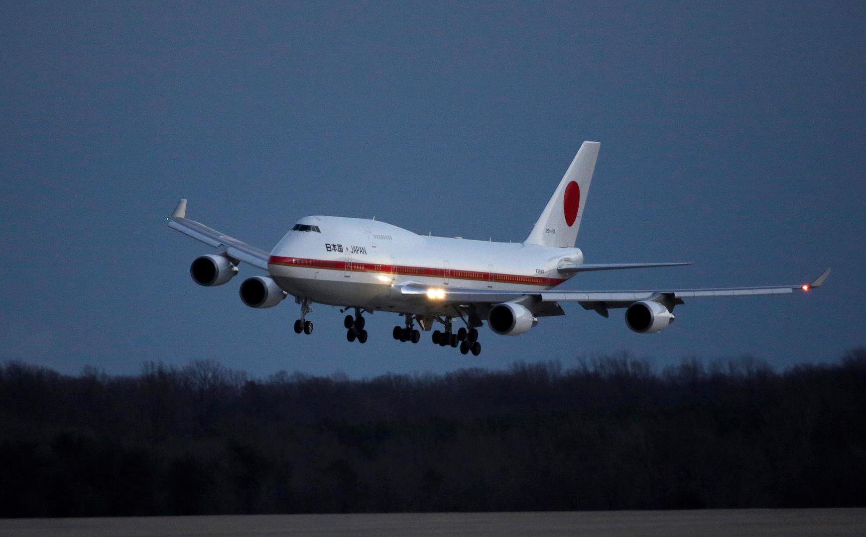 طائرة رئيس الوزراء الياباني - أرشيف