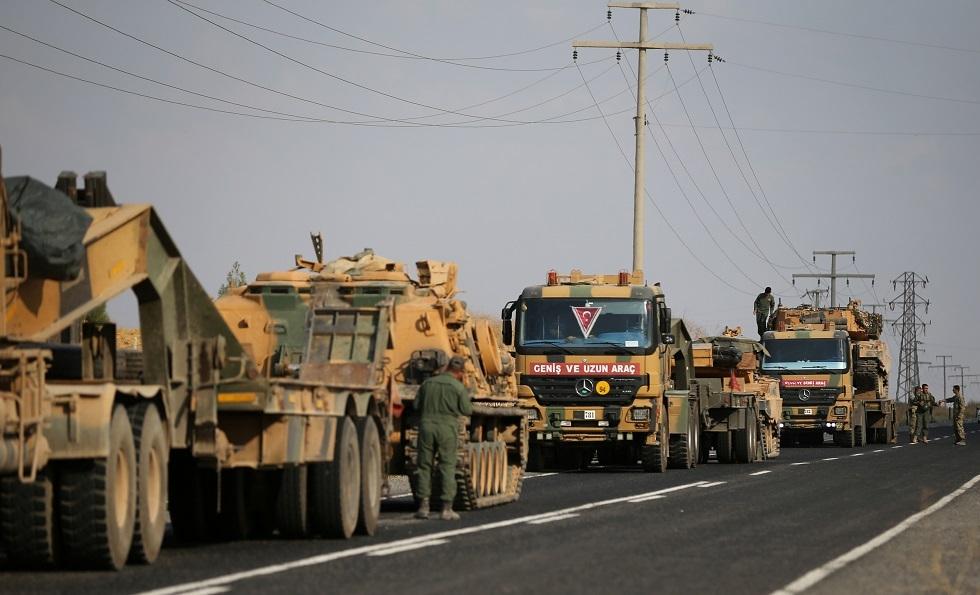 سانا: تعزيزات عسكرية تركية تدخل إلى سوريا من محور ريف رأس العين
