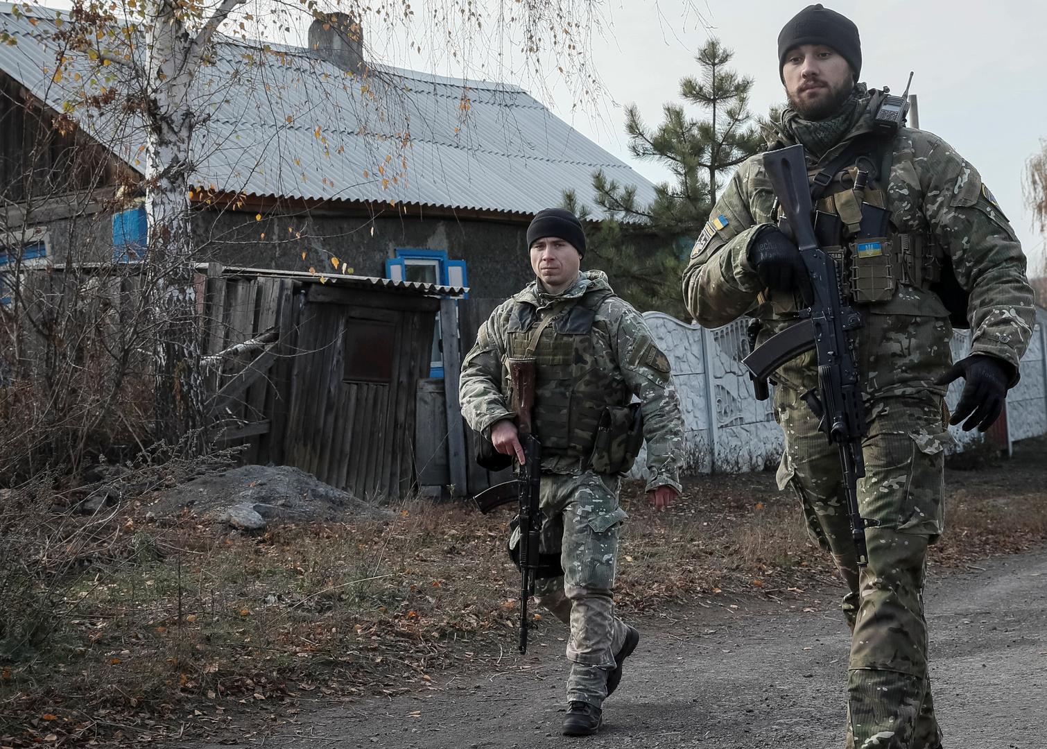 دورية للجيش الأوكراني في جنوب شرق البلاد