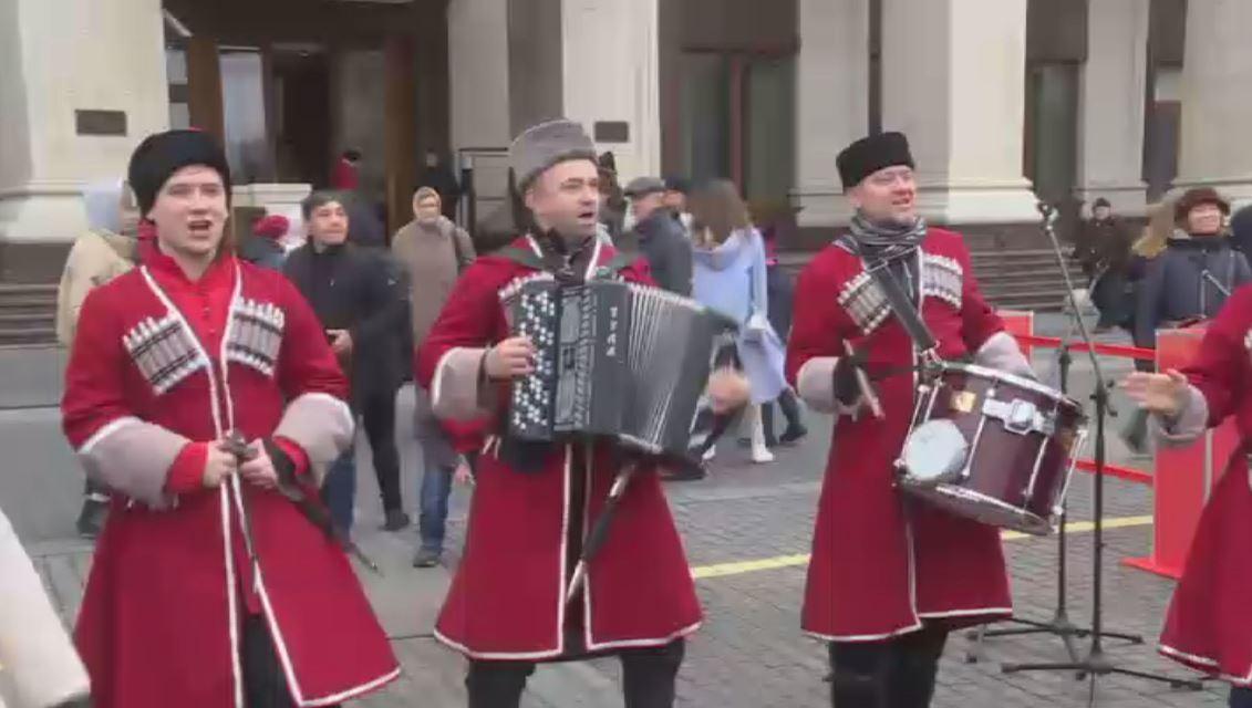 احتفالات بعيد الوحدة الوطنية في روسيا