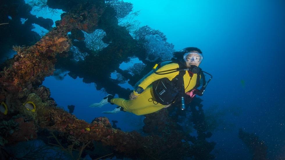 اكتشاف مكان غرق خمس سفن قديمة