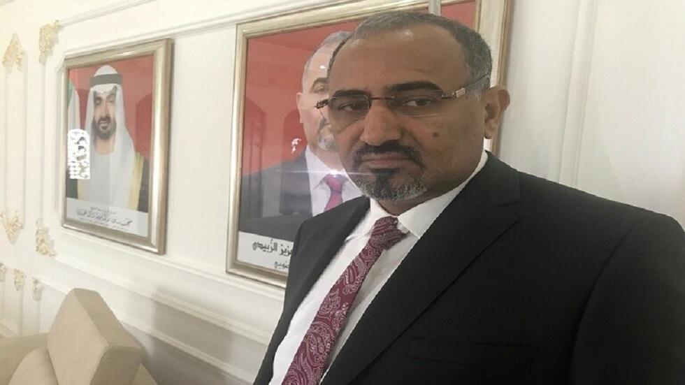 عيدروس الزبيدي، رئيس المجلس الانتقالي الجنوبي في اليمن
