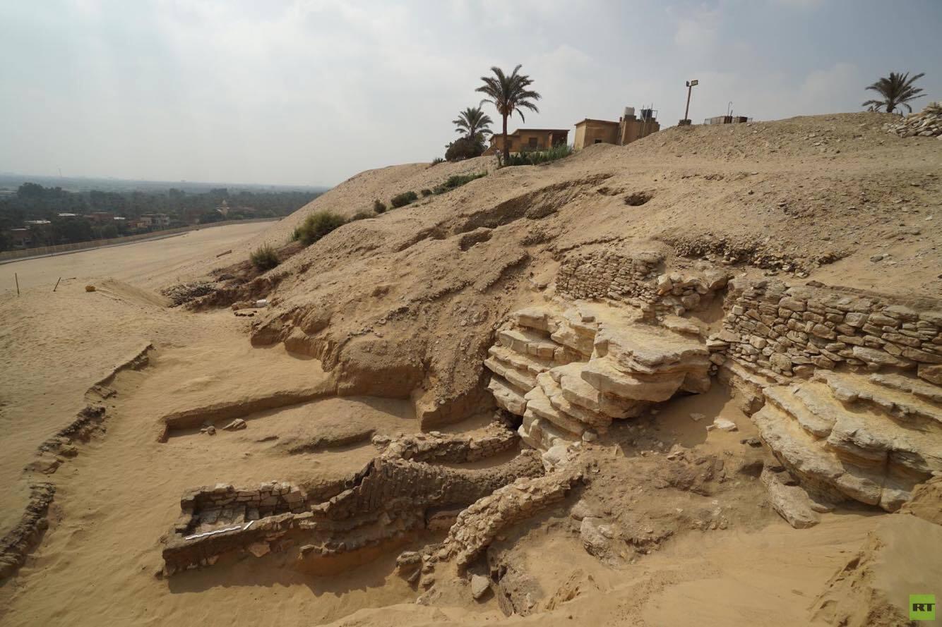 العثور على آثار جديدة بمنطقة لم يسبق استكشافها في مصر (صور)