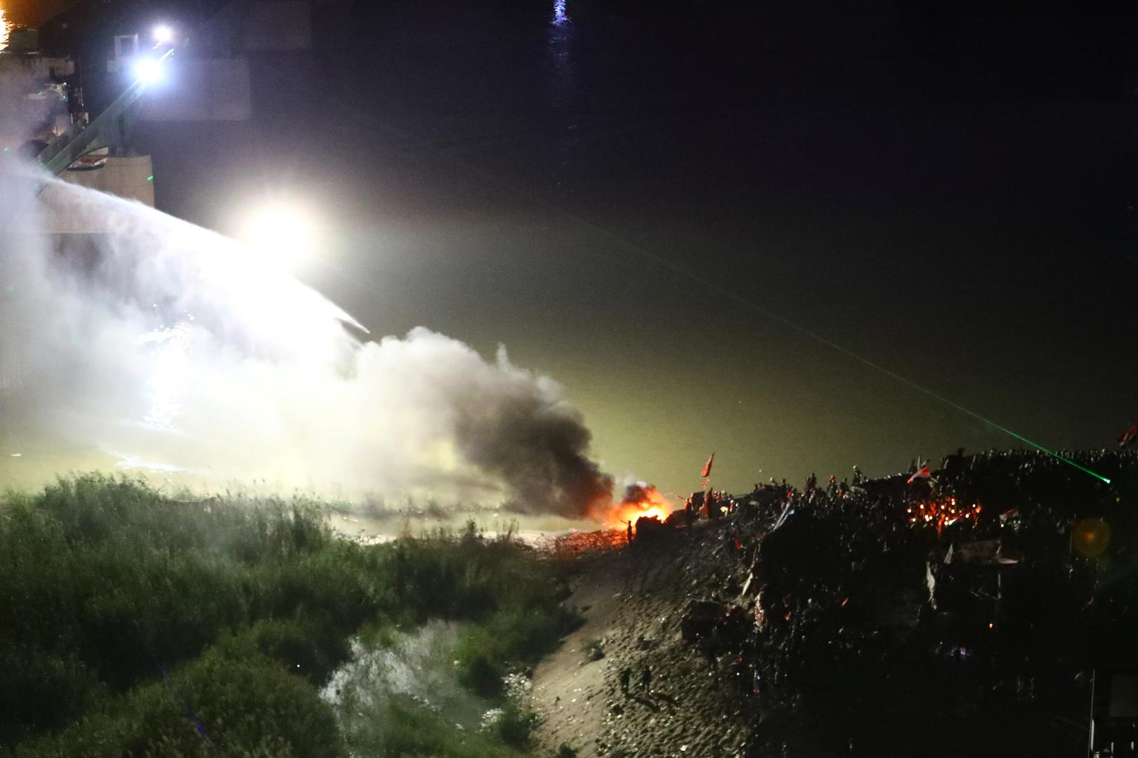 سماع دوي انفجار في بغداد