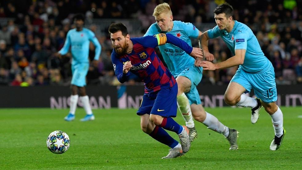 برشلونة يهدر نقطتين ثمينتين في دوري الأبطال (فيديو)