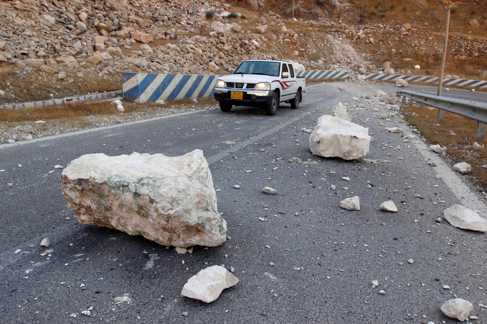زلزال بقوة 5.4 درجة يضرب جنوب إيران