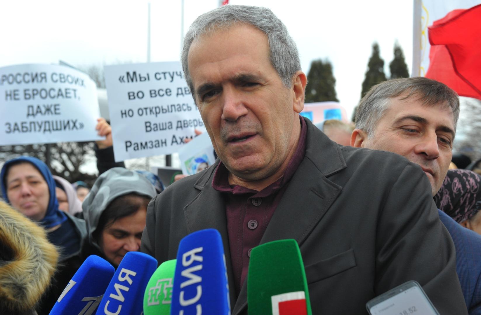 عضو مجلس الاتحاد الروسي من جمهورية الشيشان زياد سبسبي