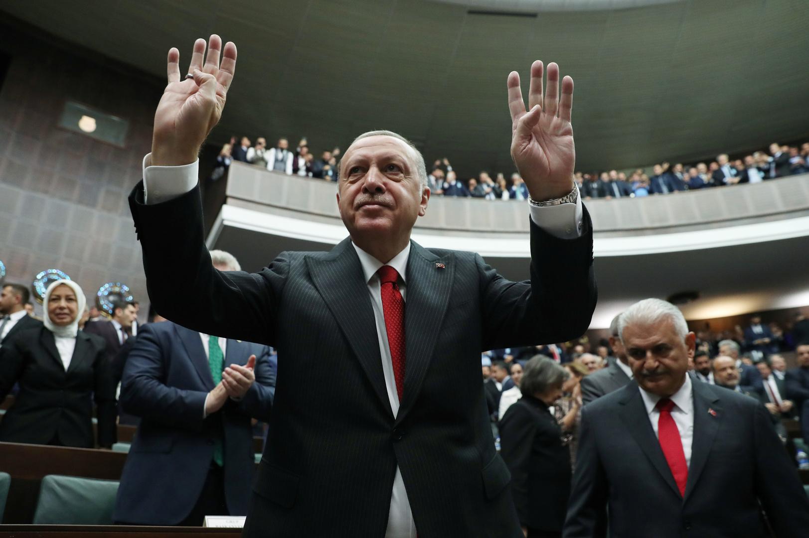 أردوغان: اعتقلنا زوجة البغدادي وشقيقته وصهره في سوريا