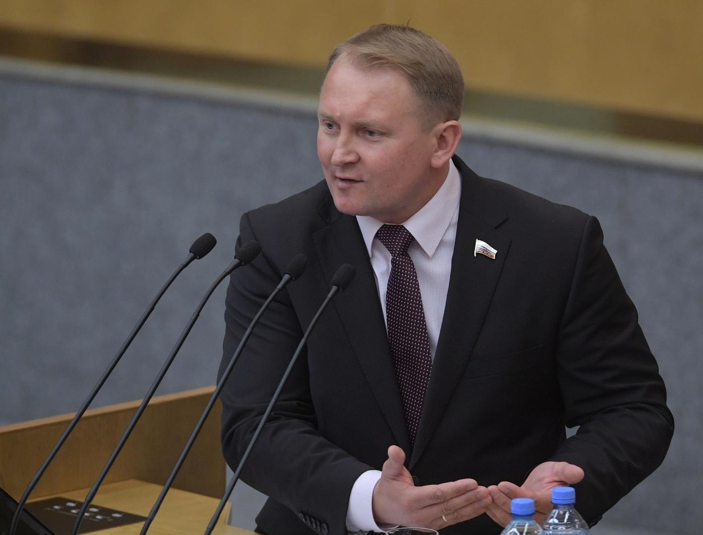 النائب الأول لرئيس لجنة الدفاع بمجلس الدوما الروسي، ألكسندر شيرين