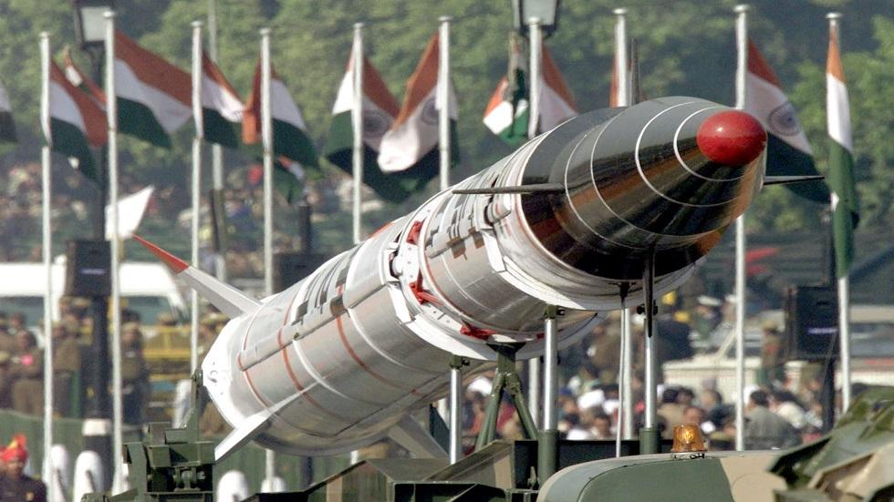 الهند تطلق صاروخا باليستيا قادرا على حمل رؤوس نووية