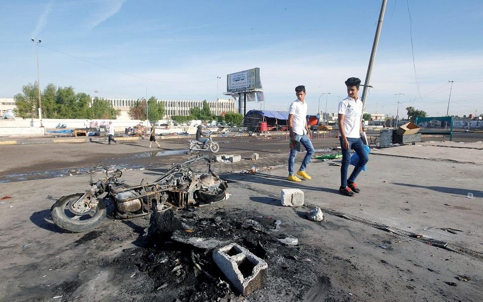 احتجاجات العراق اليوم