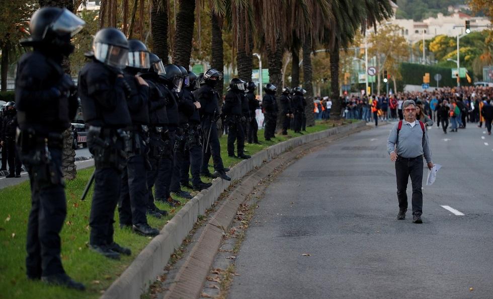 شرطة في كاتالونيا