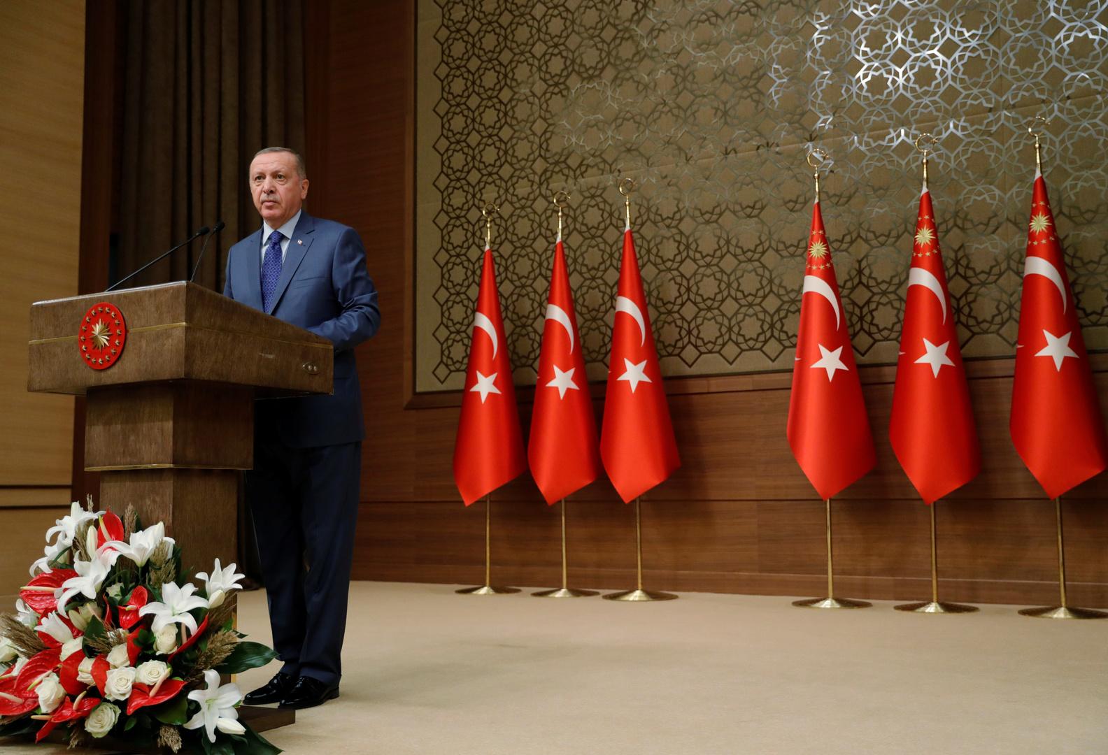 أردوغان: من وعدنا بانسحاب المسلحين خلال 120 ساعة لم يف بوعده