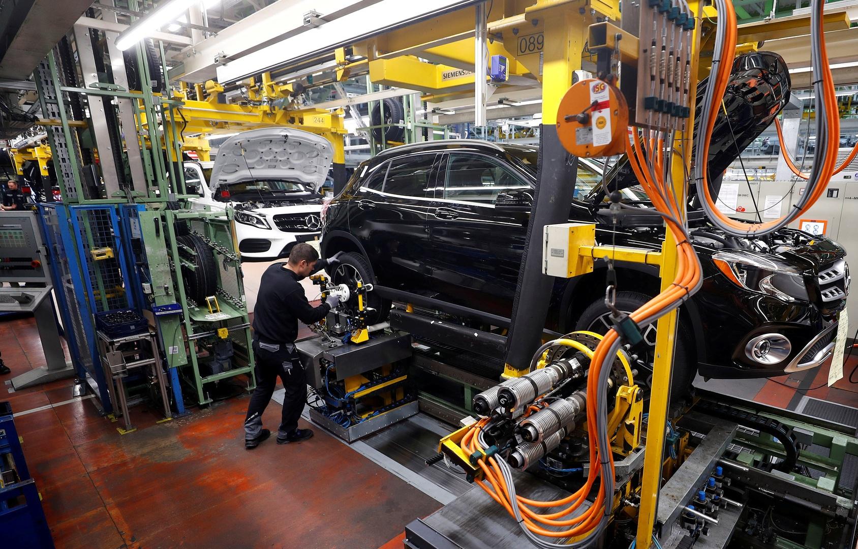 تراجع الإنتاج الصناعي في ألمانيا