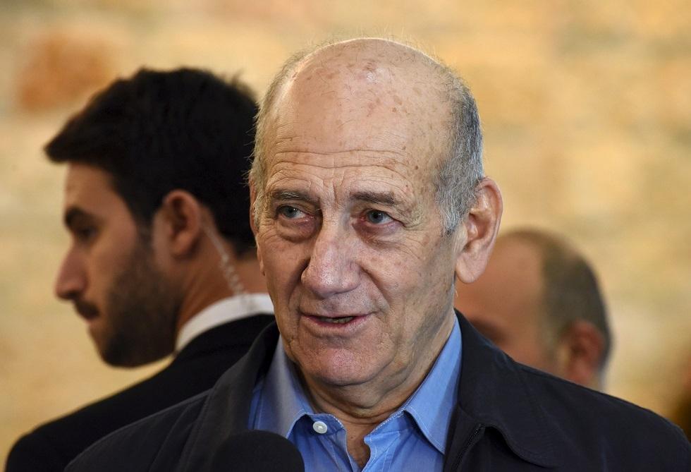 رئيس الوزارء الإسرائيلي الأسبق إيهود أولمرت
