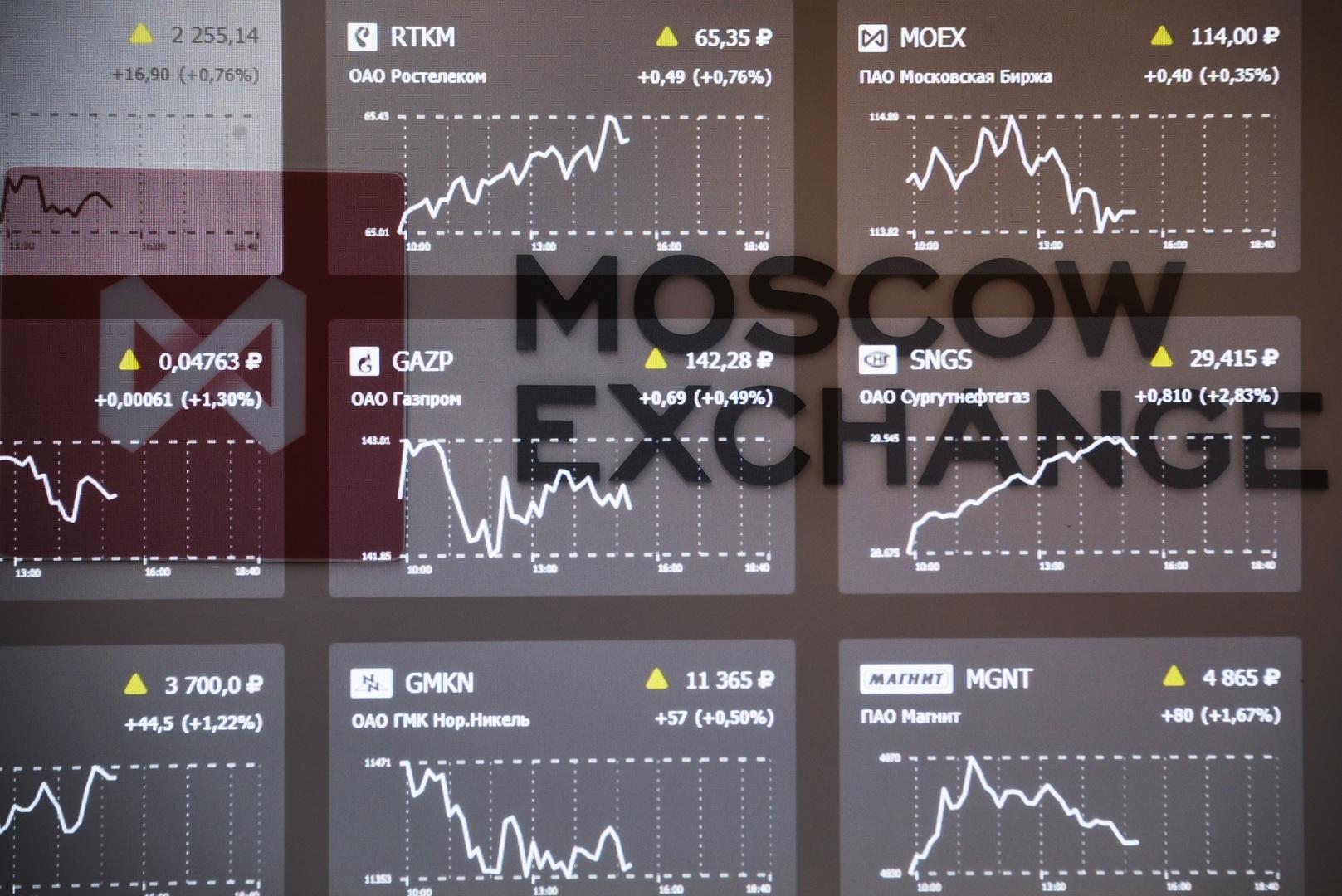 صعود بورصة موسكو إلى مستويات تاريخية