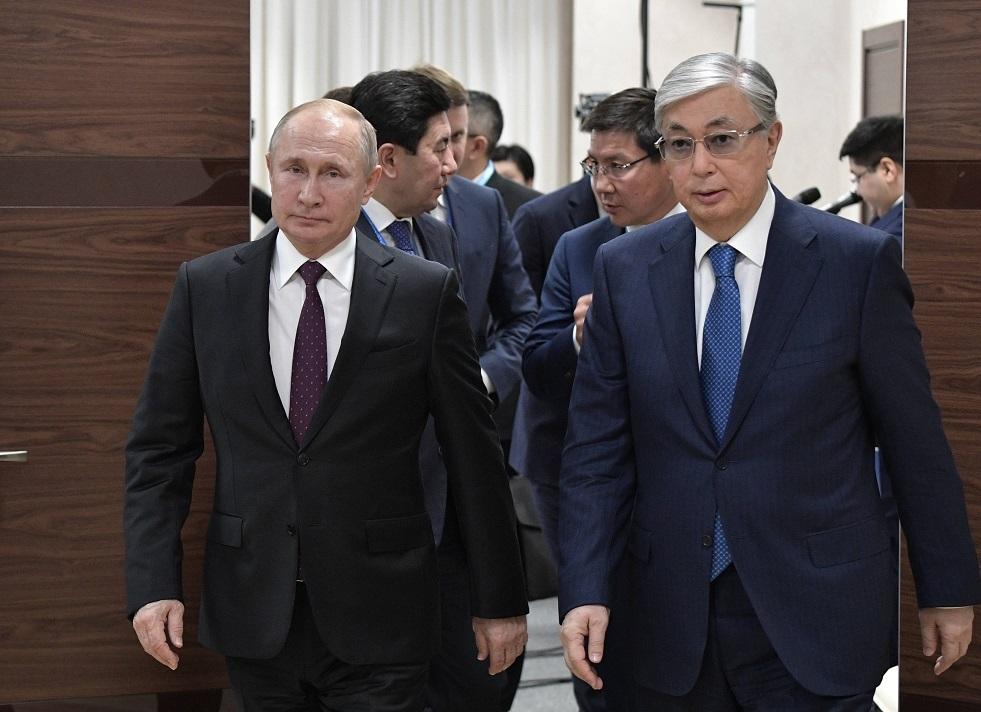رئيسا روسيا وكازاخستان يوافقان على خطط تطوير نقاط التفتيش الحدودية