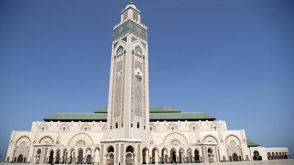 مسجد الحسن الثاني في المغرب - أرشيف