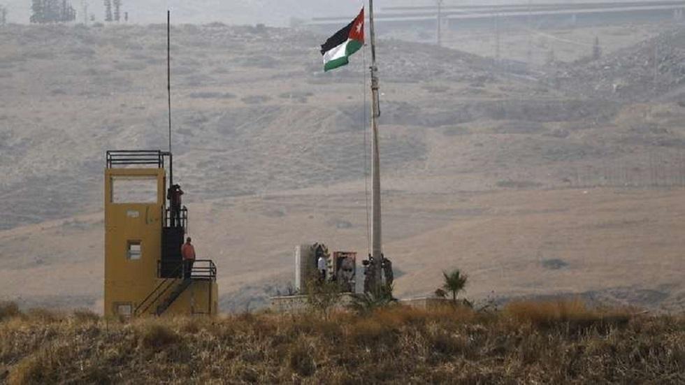 منطقة الباقورة الأردنية الواقعة على حدود إسرائيل - أرشيف