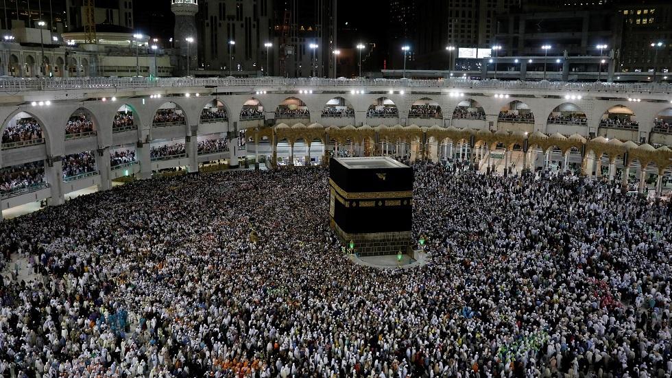 المسجد الحرام في مكة المكرمة بالسعودية - أرشيف