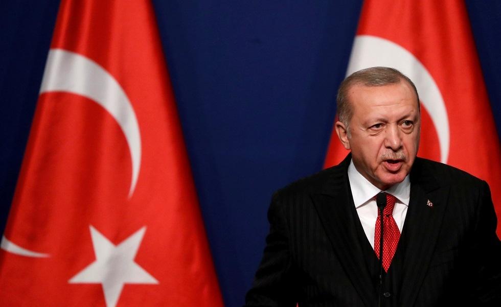 الرئيس التركي غير راض عن حلفائه
