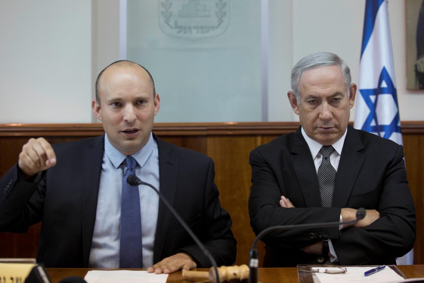 نتنياهو يتخلى عن منصب وزير الدفاع لصالح زعيم