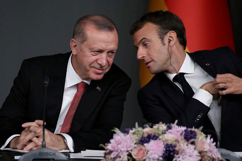 أردوغان: على ماكرون فحص حالة الموت الدماغي لديه