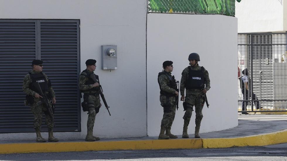 قوات الأمن المكسيكي - أرشيف