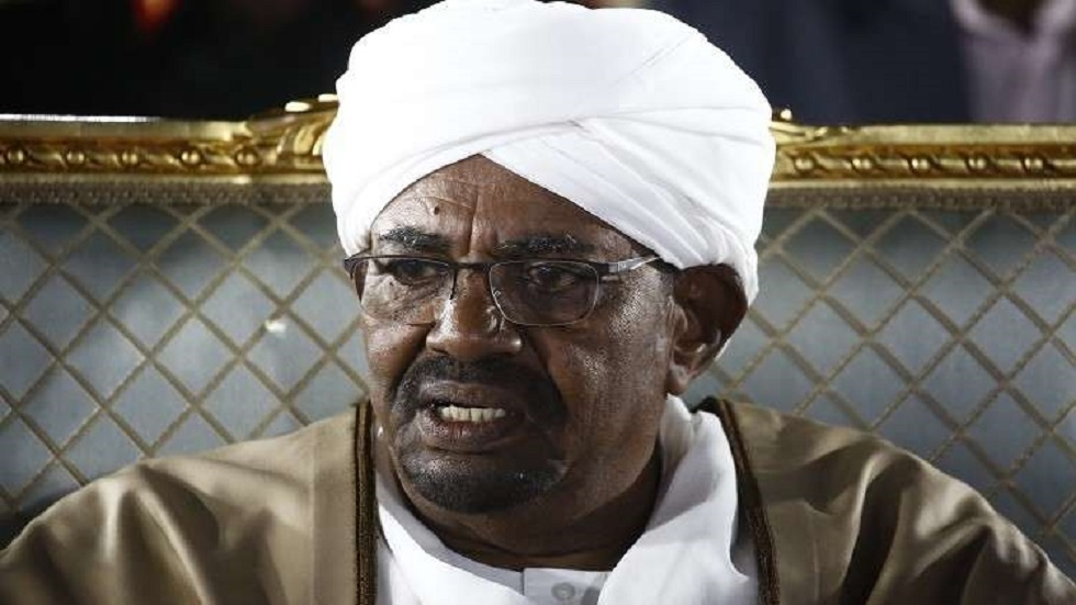 الرئيس السوداني المعزول عمر البشير (صورة أرشيفية)