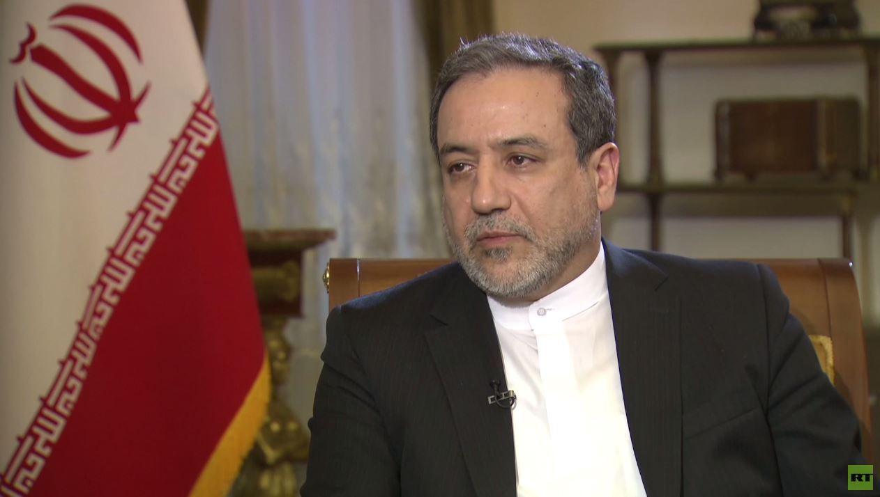 عراقجي لـ RT: نأمل بالوصول إلى أجواء هادئة بين إيران والإمارات والتوصل إلى تصور يؤدي للهدوء بالمنطقة