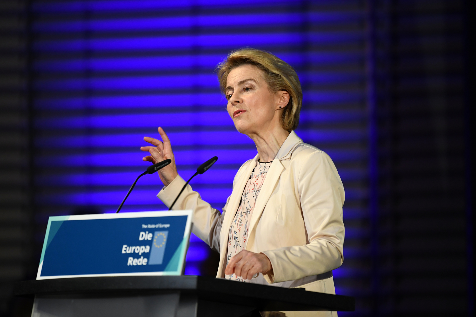 الرئيسة الجديدة للمفوضية الأوروبية، أورسولا فون دير لاين