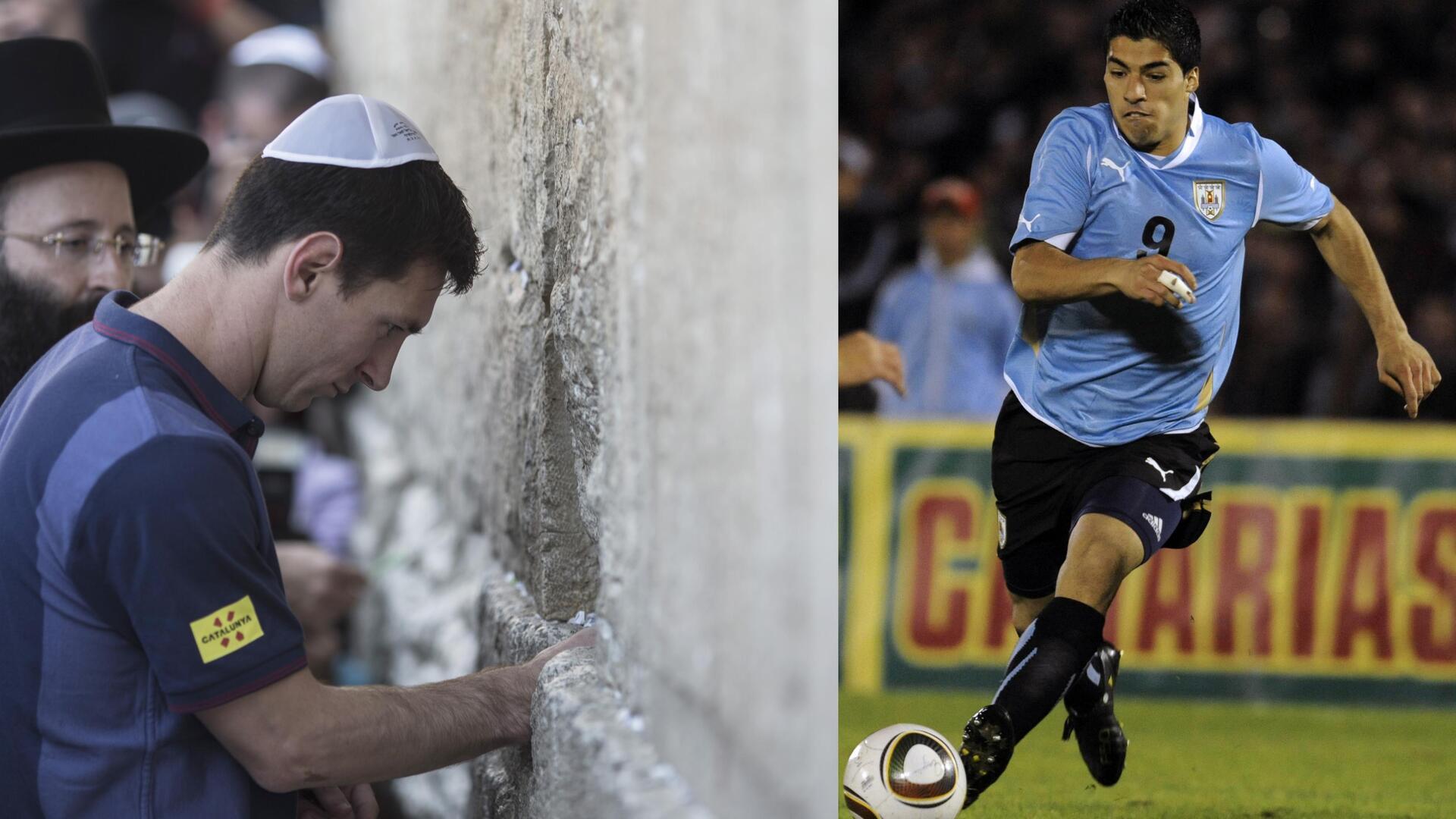 أصوات تطالب ميسي وسواريز بعدم التواطؤ مع جرائم حرب إسرائيل