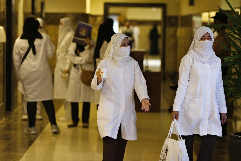 ممرضات في مستشفى سعودي