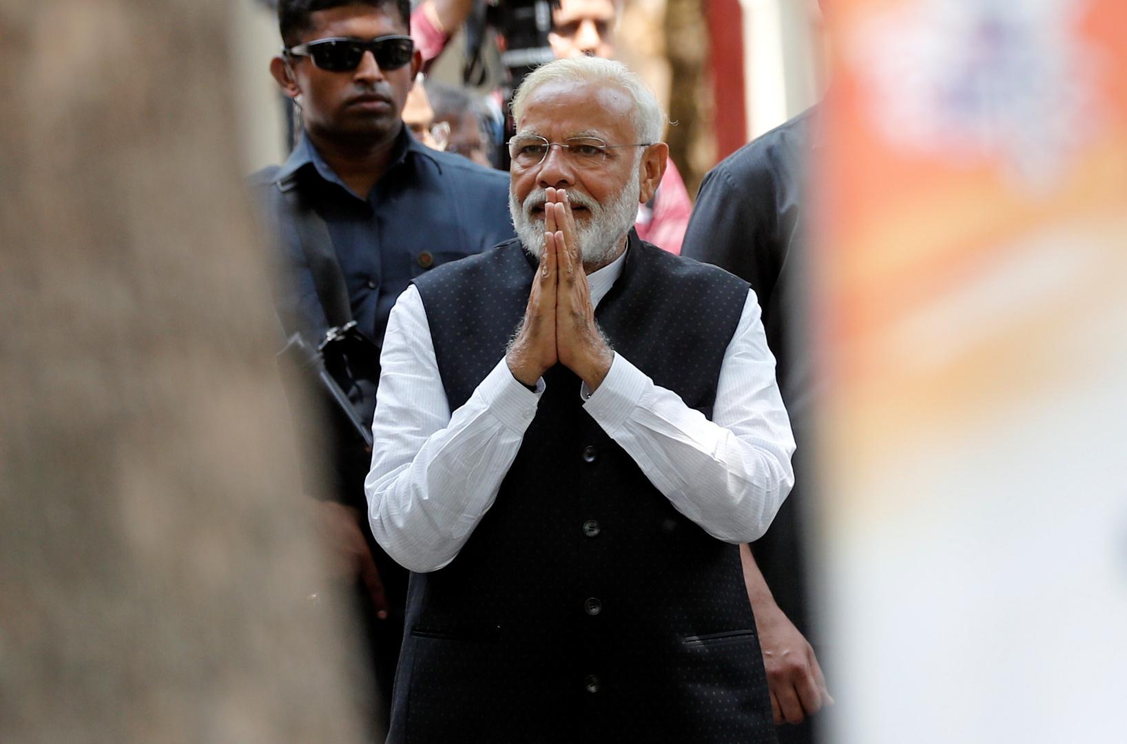 رئيس وزراء الهند يشكر نظيره الباكستاني