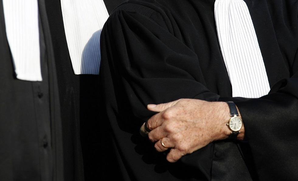 قضاة ومحامون فرنسيون -أرشيف-