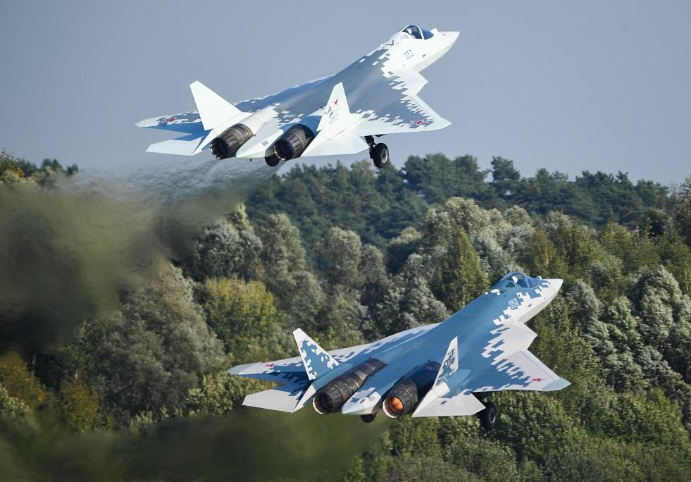 مقاتلة الجيل الخامس الروسية