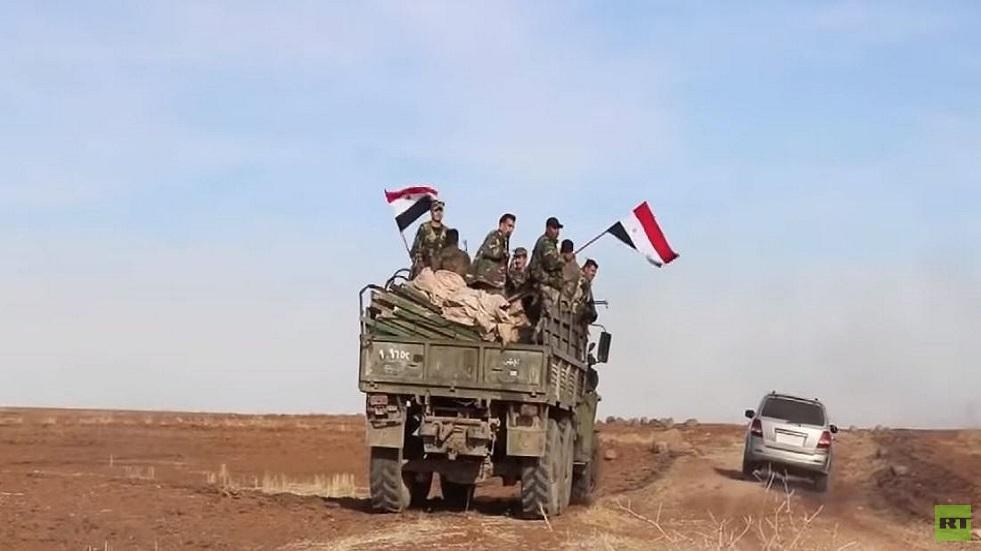 سانا: الجيش السوري يستعيد قرية أم شعيفة من القوات التركية والفصائل الموالية ويلاحق فلولهم بالمحمودية