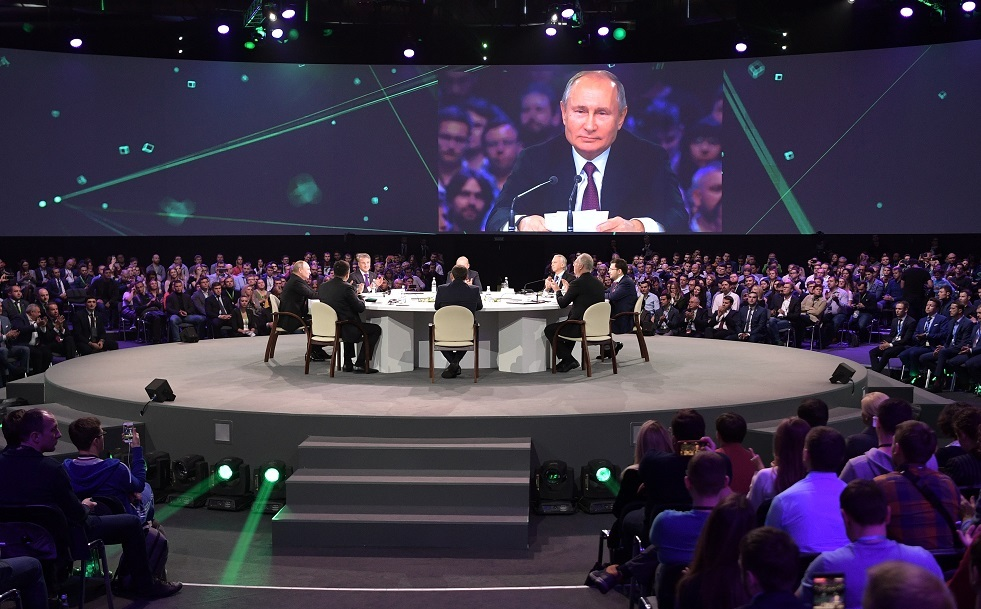 بوتين: روسيا يمكن أن تصبح من الجهات الرائدة بمجال الذكاء الصناعي
